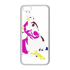 Untitled 3 Colour Apple iPhone 5C Seamless Case (White)