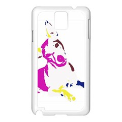 Untitled 3 Colour Samsung Galaxy Note 3 N9005 Case (White)