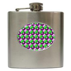 Pattern Hip Flask