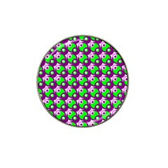 Pattern Golf Ball Marker 4 Pack (for Hat Clip)