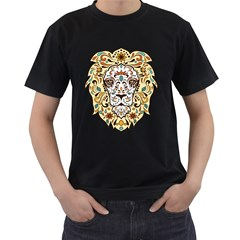 Lion  Men s T Shirt (black)