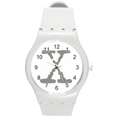 X Round Plastic Sport Watch Medium