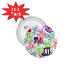 Patriot Fireworks 1 75  Button (100 Pack)