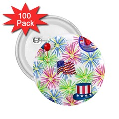 Patriot Fireworks 2 25  Button (100 Pack)