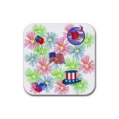 Patriot Fireworks Drink Coasters 4 Pack (square)