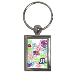 Patriot Fireworks Key Chain (Rectangle)