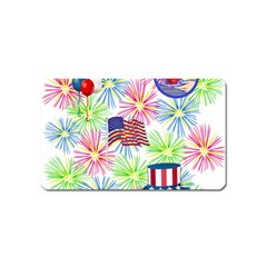 Patriot Fireworks Magnet (Name Card)