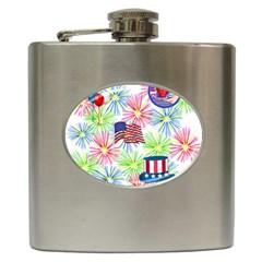 Patriot Fireworks Hip Flask