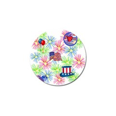 Patriot Fireworks Golf Ball Marker