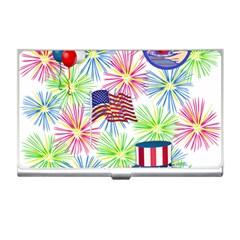 Patriot Fireworks Business Card Holder