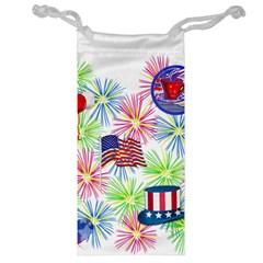 Patriot Fireworks Jewelry Bag