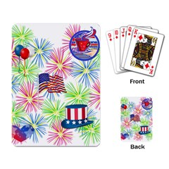 Patriot Fireworks Playing Cards Single Design