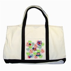 Patriot Fireworks Two Toned Tote Bag