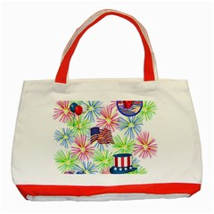 Patriot Fireworks Classic Tote Bag (red)