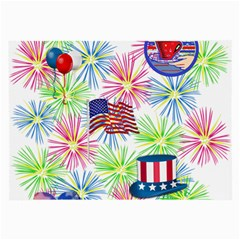 Patriot Fireworks Glasses Cloth (Large, Two Sided)