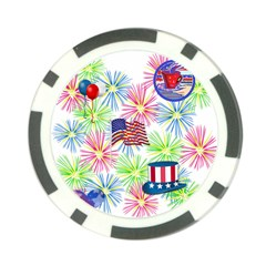 Patriot Fireworks Poker Chip