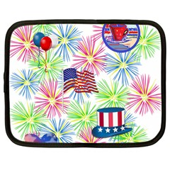 Patriot Fireworks Netbook Sleeve (large)
