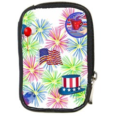 Patriot Fireworks Compact Camera Leather Case