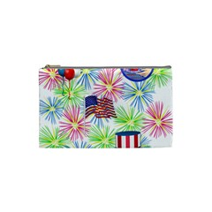 Patriot Fireworks Cosmetic Bag (Small)