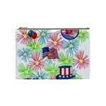 Patriot Fireworks Cosmetic Bag (Medium) Front