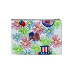 Patriot Fireworks Cosmetic Bag (Medium) Back