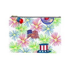 Patriot Fireworks Cosmetic Bag (large)