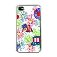 Patriot Fireworks Apple Iphone 4 Case (clear)