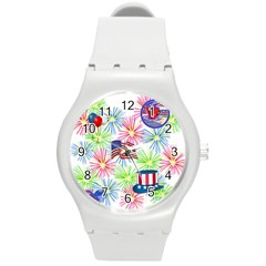 Patriot Fireworks Plastic Sport Watch (Medium)