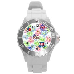 Patriot Fireworks Plastic Sport Watch (large)