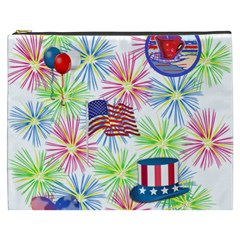 Patriot Fireworks Cosmetic Bag (xxxl)
