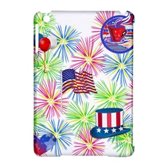 Patriot Fireworks Apple iPad Mini Hardshell Case (Compatible with Smart Cover)