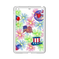 Patriot Fireworks Apple iPad Mini 2 Case (White)