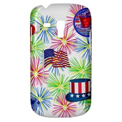 Patriot Fireworks Samsung Galaxy S3 Mini I8190 Hardshell Case
