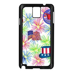 Patriot Fireworks Samsung Galaxy Note 3 N9005 Case (Black)