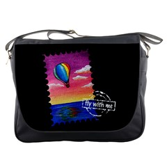 Trips In Hot Air  Messenger Bag
