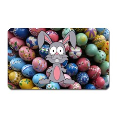 Easter Egg Bunny Treasure Magnet (rectangular)