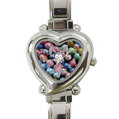 Easter Egg Bunny Treasure Heart Italian Charm Watch