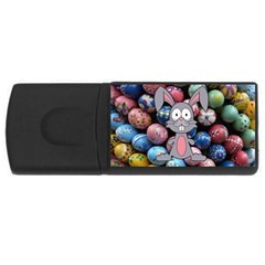 Easter Egg Bunny Treasure 4gb Usb Flash Drive (rectangle)