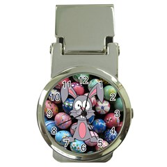 Easter Egg Bunny Treasure Money Clip with Watch