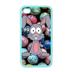 Easter Egg Bunny Treasure Apple Iphone 4 Case (color)