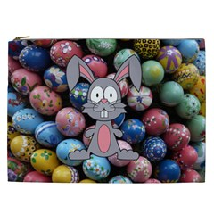 Easter Egg Bunny Treasure Cosmetic Bag (xxl)