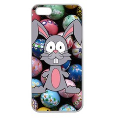Easter Egg Bunny Treasure Apple Seamless iPhone 5 Case (Clear)