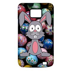 Easter Egg Bunny Treasure Samsung Galaxy S II i9100 Hardshell Case (PC+Silicone)