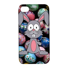 Easter Egg Bunny Treasure Apple iPhone 4/4S Hardshell Case with Stand