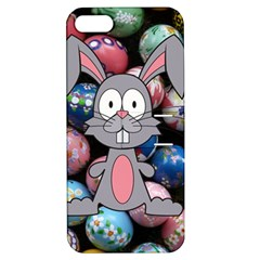 Easter Egg Bunny Treasure Apple iPhone 5 Hardshell Case with Stand