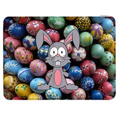 Easter Egg Bunny Treasure Samsung Galaxy Tab 7  P1000 Flip Case