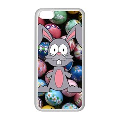 Easter Egg Bunny Treasure Apple Iphone 5c Seamless Case (white)