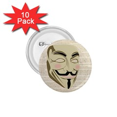 We The Anonymous People 1.75  Button (10 pack)