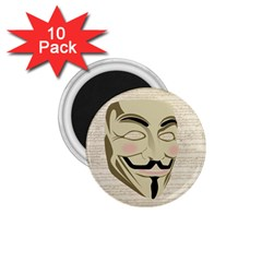 We The Anonymous People 1.75  Button Magnet (10 pack)