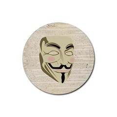 We The Anonymous People Drink Coaster (round)